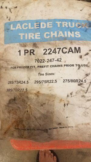 Truck and trailer tire chains for Sale in Alpharetta, GA