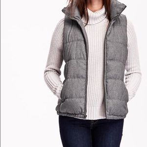 Old Navy Grey Puffer Vest for Sale in Massillon, OH