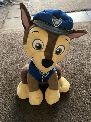 Paw Patrol Chase Plushy (Washed and Disinfected!) for Sale in San Diego, CA