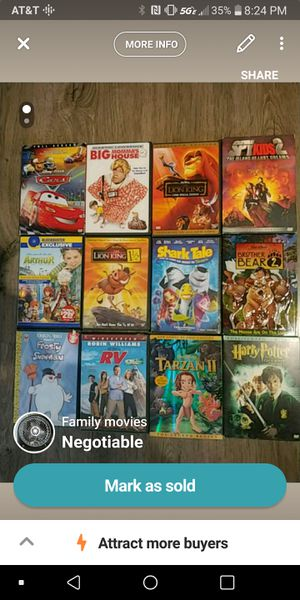 Family movies for Sale in Anchorage, AK