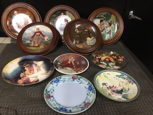 10 Collectable plates(make me an offer) for Sale in Glendale, CA