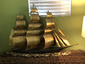Brass Sailboat - decor for Sale in Concord, CA