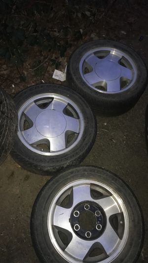 15 Inch 6x5.5 Toyota Chevy wheels for Sale in Milwaukie, OR