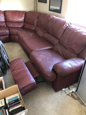 Sectional recliner for Sale in Mission Viejo, CA