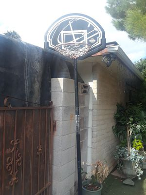 Basketball hoop, good condition on stand with wheels .... make an offer for Sale in Las Vegas, NV