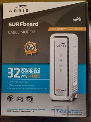 Arris Surfboard Cable Modem for Sale in ROWLAND HGHTS, CA