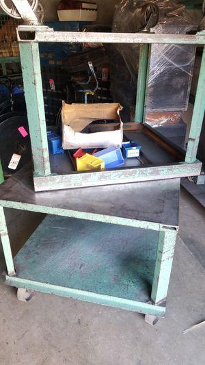 Tables heavy duty metal for Sale in Riverside, CA