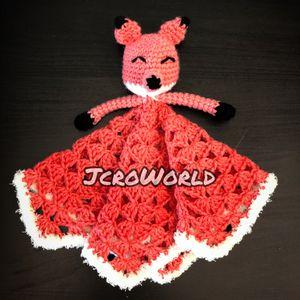"JCroWorld. Baby blanket toy ""Fox"" for Sale in Seattle, WA"