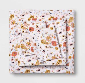Twin/Twin XL Printed Easy Care Cotton Sheet Set Blush Floral - Opalhouse for Sale in El Monte, CA