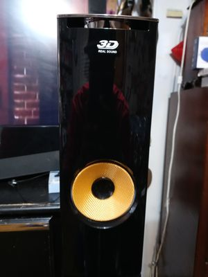 LG 3D, real sound Duel Tower Surround sound speakers. for Sale in Lawrenceville, GA