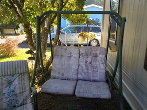 Porch swing w/cushions $35 for Sale in Brush Prairie, WA