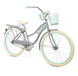 """Huffy, Nel Lusso Classic Cruiser Bike with Perfect Fit Frame, Women's, Gray, 26"""" for Sale in Arlington, TX"""