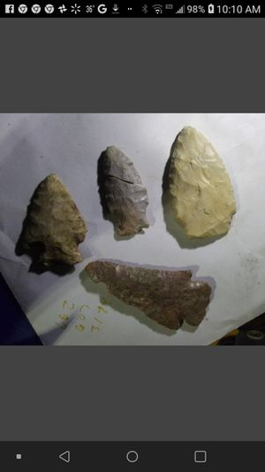 Indian arrowheads for Sale in Columbia, MO