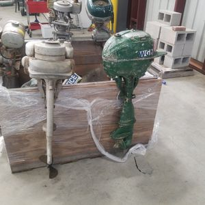 6 Vintage Outboard Motors . for Sale in Humble, TX