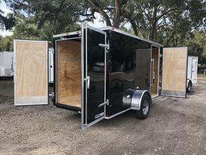2019 6x12 Cynergy Basic Enclosed Trailer Double Doors for Sale in Tampa, FL