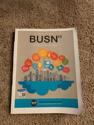 Introduction to Business Textbook for Sale in Phoenix, AZ