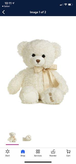 "11"" Bear Plush Toy Stuffed Animal Brand New for Sale in Fairfax, VA"