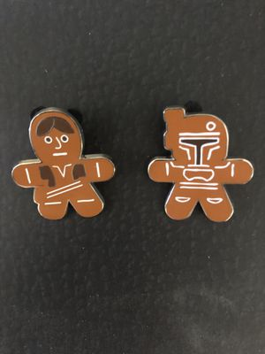 Star Wars DISNEY Collectable Gingerbread pins for Sale in Fullerton, CA