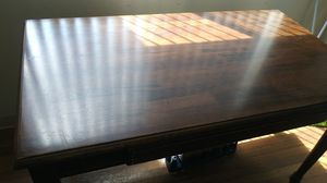 Brown wooden table for Sale in Las Vegas, NV