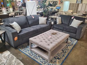 Sofa and Loveseat, Slate for Sale in Huntington Beach, CA