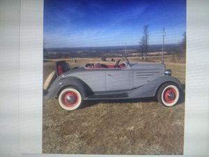 1934 Chevy master roadster convertible rumble seat coupe for Sale in Moreno Valley, CA
