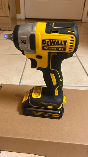 DeWalt 20-Volt MAX Lithium-Ion 3/8 in. Cordless Compact Impact Wrench with Battery for Sale in Nottingham, MD