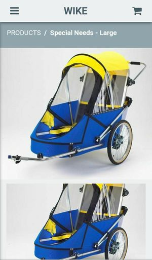 WIKE Large Special Needs Bike Trailer for Sale in Mesa, AZ