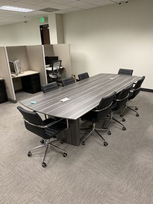Office Conference table with chairs for Sale in Corona, CA