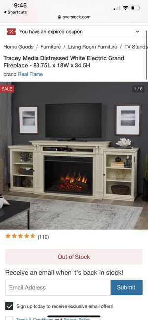 Fireplace TV Stand for Sale in Clarence Center, NY