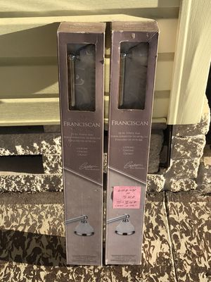 (2) DECORATIVE TOWEL BARS - NEW IN THE BOXES - $25.00 EACH - SOLD AT LOWES FOR $34.99+ TAX EACH for Sale in Largo, FL