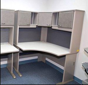 Urgent sell: corner desk with hutch for Sale in Alexandria, VA