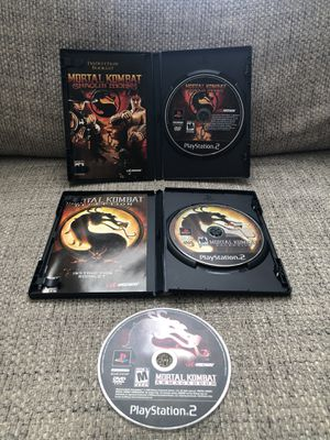 Mortal Kombat PlayStation 2 - PS2 Lot (READ) for Sale in Fresno, CA