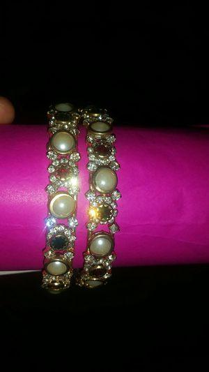 Fancy bangles/bracelet (2pc.) for Sale in Dunlap, IL