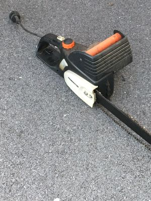 Electrical chainsaw Remington runs great. New chain for Sale in Martinsburg, WV