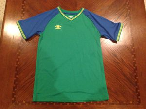 Vintage Kids a umbro soccer jersey shirt for Sale in Saint Charles, MO