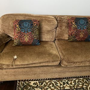 Brown Couch for Sale in Syracuse, UT