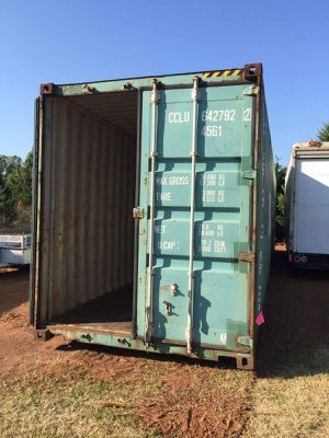 Fast Delivery on 20' and 40' Shipping/Storage Containers for Sale in Dallas, TX