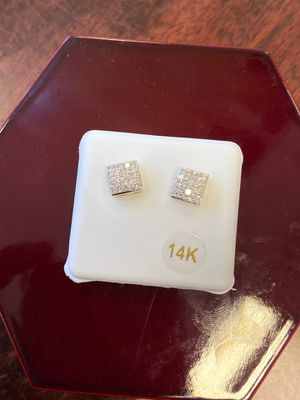14k earrings with 5/8ct real diamonds 💎 @@@$$550 for Sale in Dallas, TX