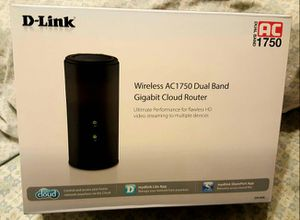 D-Link Wireless AC1750 Dual Band Gigabit Cloud Router for Sale in Catonsville, MD