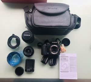 Olympus camera with all accessories for Sale in Richmond, VA