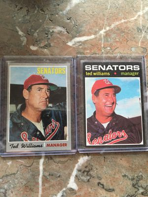 Ted Williams baseball cards for Sale in Greer, SC