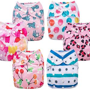 Adjustable Size Cloth Diapers, 6 Pack, Waterproof, Washable with 6 Inserts and 1 Wet Bag. for Sale in Nashville, TN