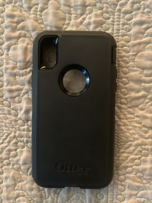 iPhone X/Xs Defender Otter Box like new for Sale in Littleton, CO
