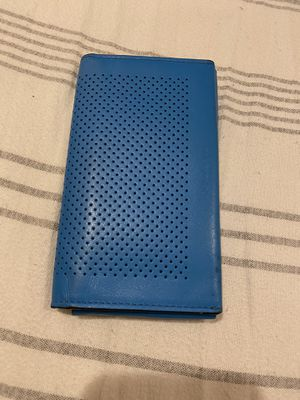 Coach Phone/ Wallet (Blue/Tan) for Sale in Buena Park, CA
