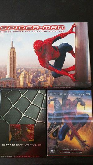 Spider-man 1, 2, and 3 (Sam Raimi, Tobey Maguire) for Sale in Burlington, NJ