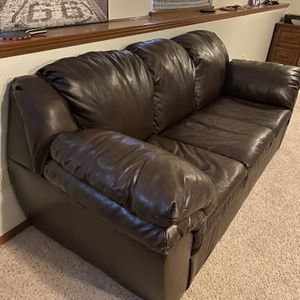 Dark Brown Couch for Sale in Derby, KS