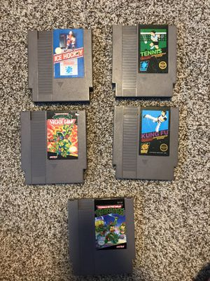NES GAMES $5 for Sale in Edgewood, WA