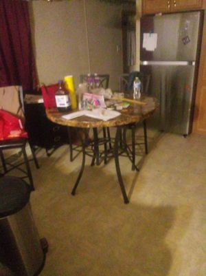 Kitchen table with 4 chairs for Sale in Greensburg, PA