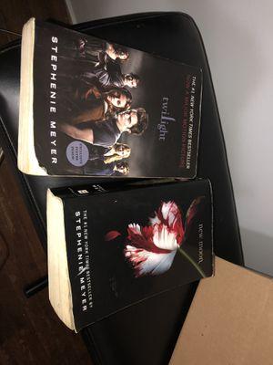 Twilight saga books 1 & 2 for Sale in Reedley, CA