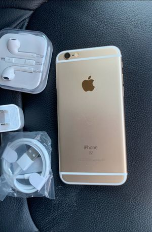 iPhone 6s,  Factory Unlocked & iCloud Unlocked.. Excellent Condition, Like a New... for Sale in Springfield, VA